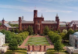 smithsonian aerial view